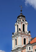 Fragment Of Catholic Church In Baroque Style. — Stock Photo