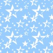 Stars seamless pattern. — Stock Vector #6912096