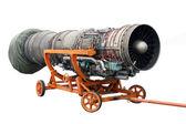 Transportation of the engine — Stock Photo