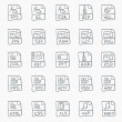 Stock Vector: Sketch Icon Set