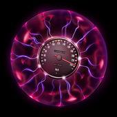 Magic Car Speedometer — Stock Photo