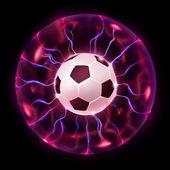 Soccer Ball Wheel — Stock Photo