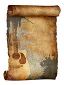 Starý papír textury — Stock fotografie