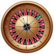 Roulette — Stock Vector