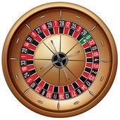 Roulette — Vetorial Stock