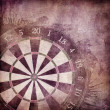 Stock Photo: Darts Board