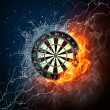 Darts Board - Stock Photo