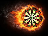 Darts Board — Stockfoto