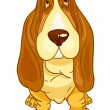 Cartoon Character Dog - Imagen vectorial