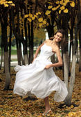 Dance of the bride — Stock Photo