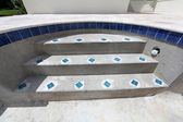 游泳池施工 — 图库照片