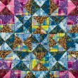 Patchwork pattern — Stock Photo