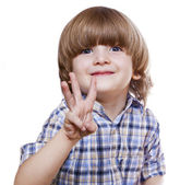 Smiling little boy — Stock Photo