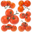Three Red Tomatoes — Stock Photo