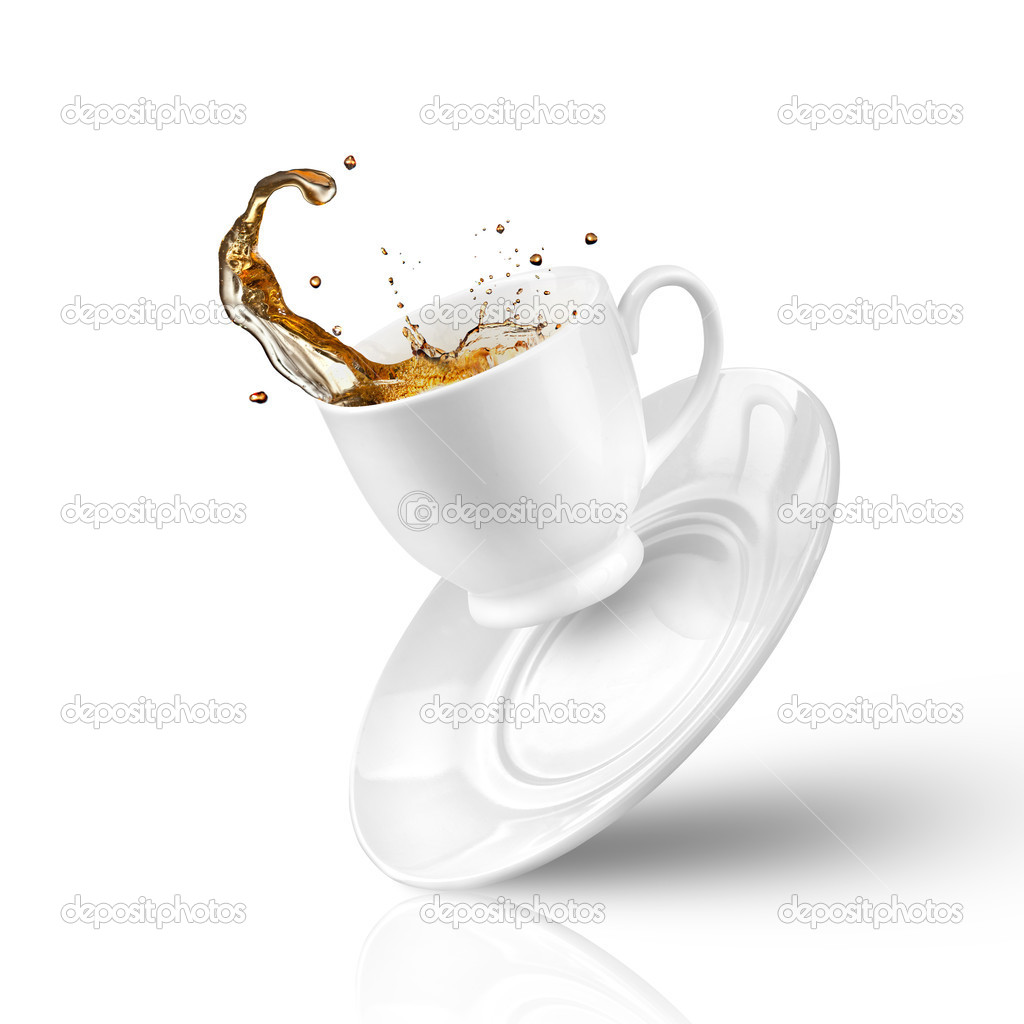 Clipart Spilled Coffee