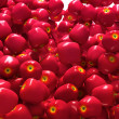 Stock Photo: Close-up of Red ripe apples isolated