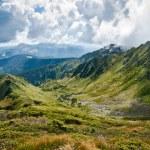 Mountains: Carpathians on the border of Ukraine and Romania — Stock Photo #7332101