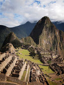 Famous Inca city Machu Picchu — Stock Photo