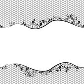 Lace. seamless background — Stock Vector