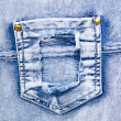 Stock fotografie: Denim with pocket