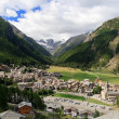 Cogne overview, Italy — Stock Photo