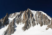 Mont Blanc massif — Stock Photo