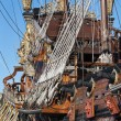 Historical galleon — ストック写真
