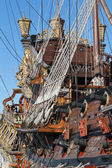 Historical galleon — Stock Photo