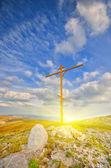 Christian cross — Stock Photo
