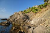 Rocce e mare — Foto Stock