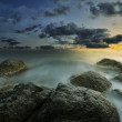 Rocks and sea - Stockfoto