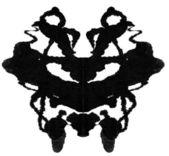Rorschach Test — Stock Photo