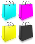 CMYK Gift Bag — Stock Photo