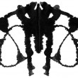 Rorschach Test — Foto Stock