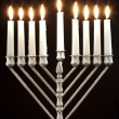Hanukkah Menorah / Hanukkah Candles — Stock Photo #7542027