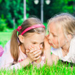 Two pretty young girls — Stock Photo #6979708