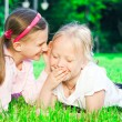 Two pretty young girls — Stock Photo #6979714