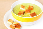 The broccoli soup — Stock Photo