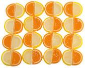 Fondo de caramelo de la fruta — Foto de Stock