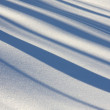 Snow surface — Stock Photo