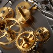 mechanical clock — Stock Photo