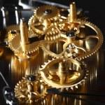 mechanické hodiny — Stock fotografie
