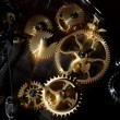 Mechanical clock — Stockfoto
