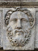 A stone bas-relief. — Stockfoto