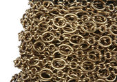 Chain on a coil — Stock Photo