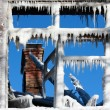 The winter window — Stock Photo #7922119