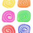 assorted colorful candies — Stock Photo #7021449