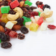 Mix dried fruits and nuts - Stock Photo