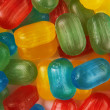 Assorted colorful candies — Stock Photo