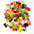 Assortment of colorful candy — Stock Photo